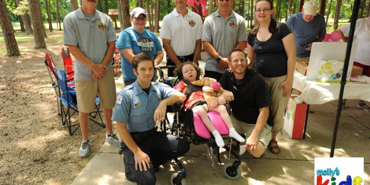 Molly's Kids: 5-year-old Charlotte girl honors the rescuers who saved her life