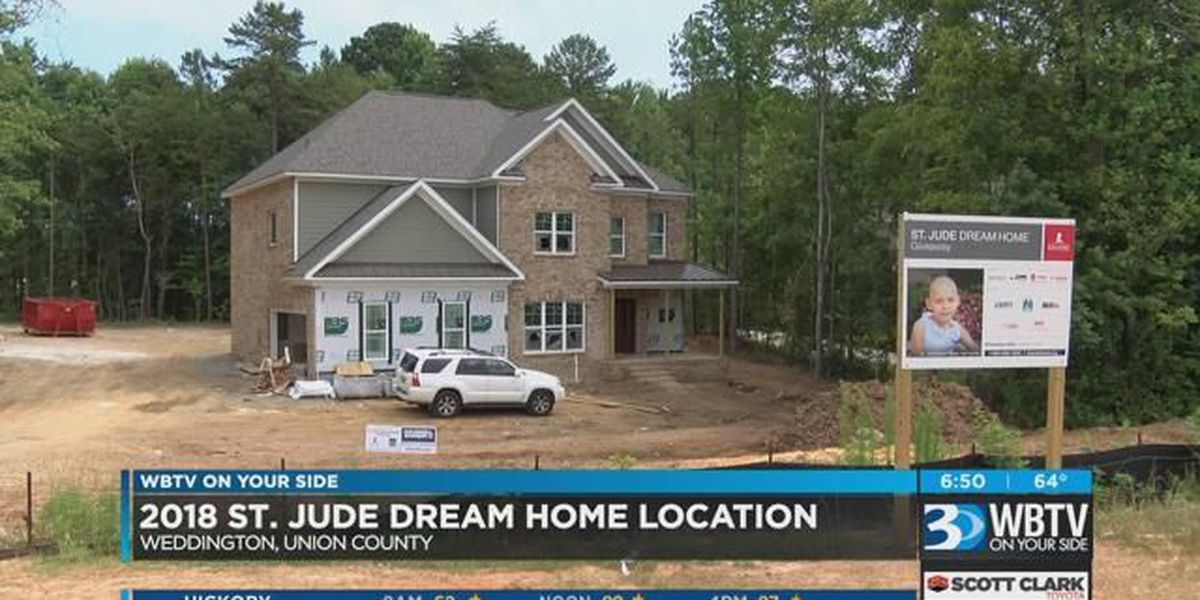 2018 St. Jude Dream Home location in Union County