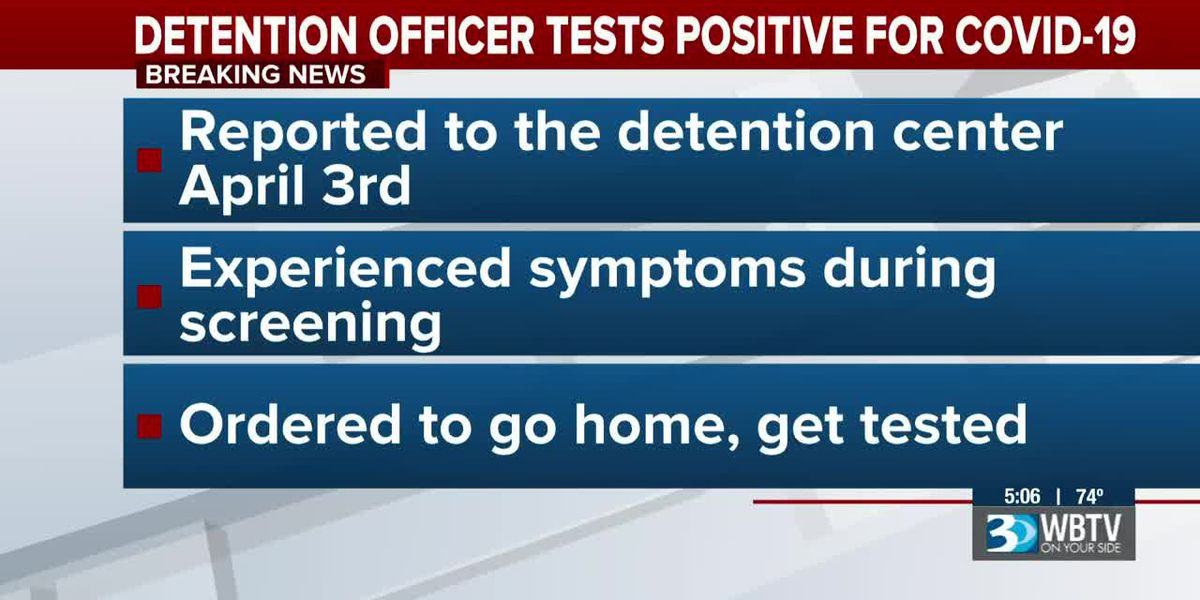 Meck. County detention officer tests positive for COVID-19