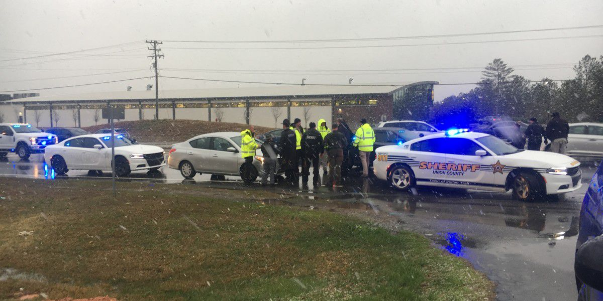 Bank robbery suspect arrested after leading deputies on highway chase from Union Co.