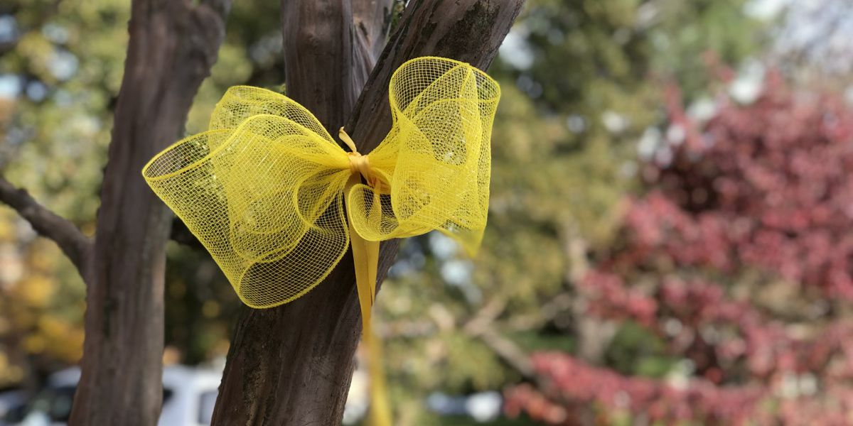 Community hangs ribbons throughout town to honor NC teacher slain in Mexico