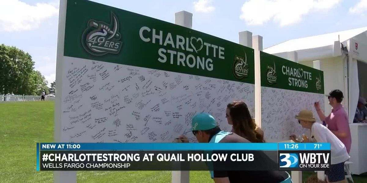Quail Hollow Club, Wells Fargo Championship Participants Honor UNC Charlotte Victims