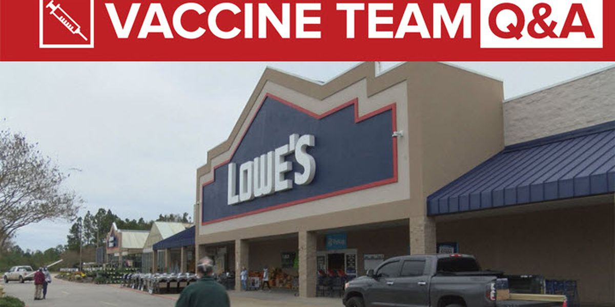 VACCINE TEAM: During the shutdown places like Home Depot and Lowes were considered essential and open. Are their employees now eligible for the vaccine?