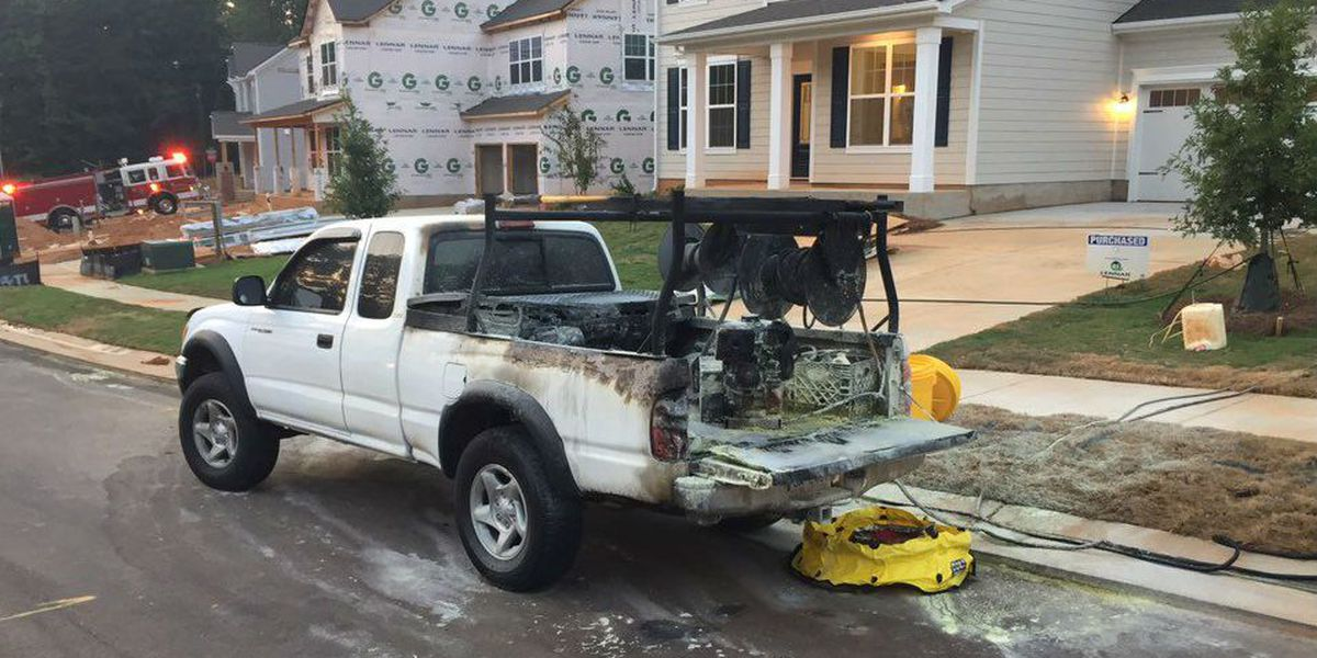 Mooresville neighbors help worker engulfed in flames