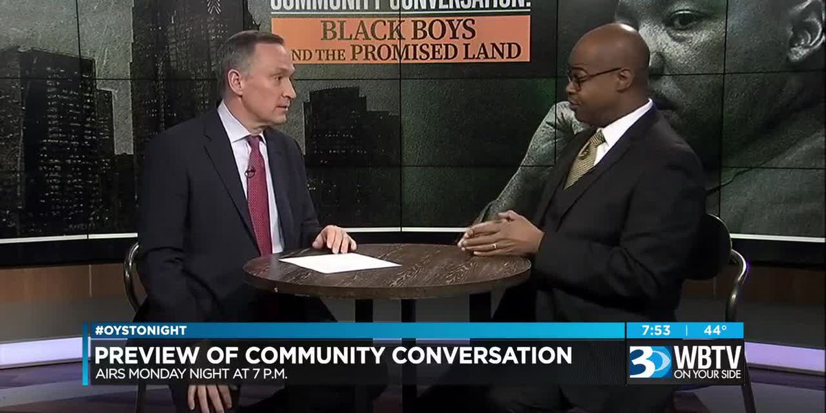 WBTV Community Conversation Preview: Black Boys and the Promised Land