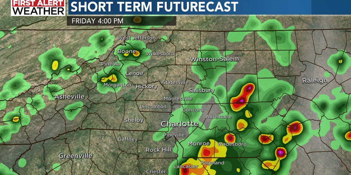 First Alert: Tropical humidity leads to more downpours