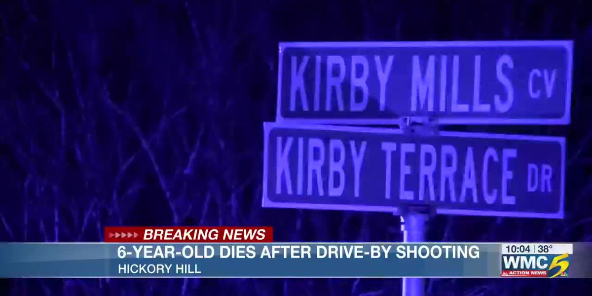 6-year-old girl dies in hospital after drive-by shooting in Hickory Hill Monday night
