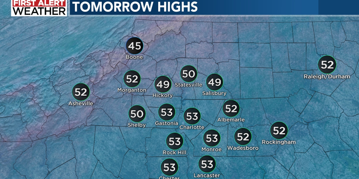 Sunny and chilly Sunday with a First Alert for New Year's Eve Thursday