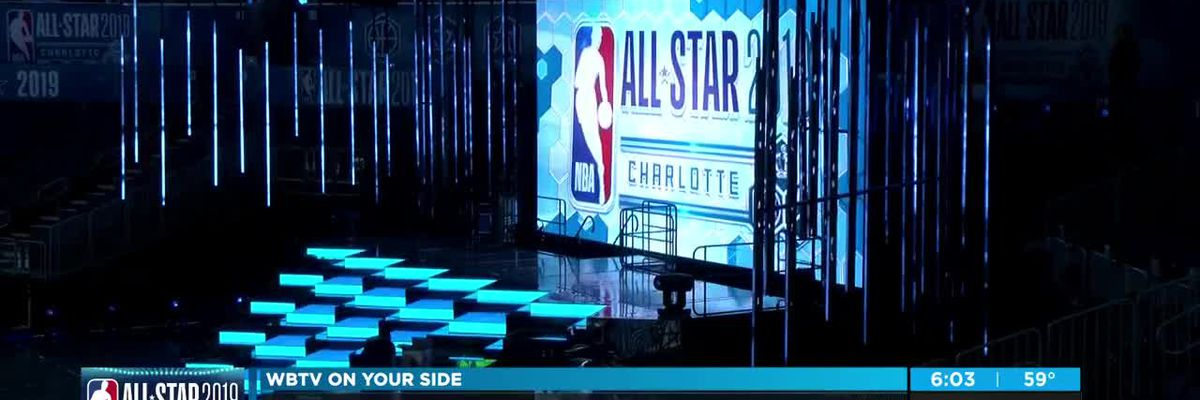 Spectrum Center ready to shine for NBA All-Star weekend