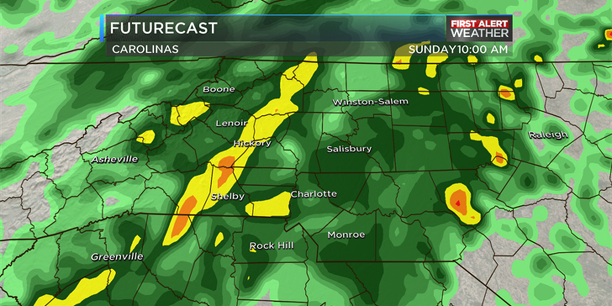 Blog: First Alert Day Sunday as heavy rainfall likely, flooding possible