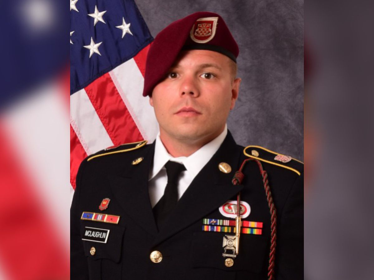 Fallen Fort Bragg soldier is welcomed home by family, fellow troops
