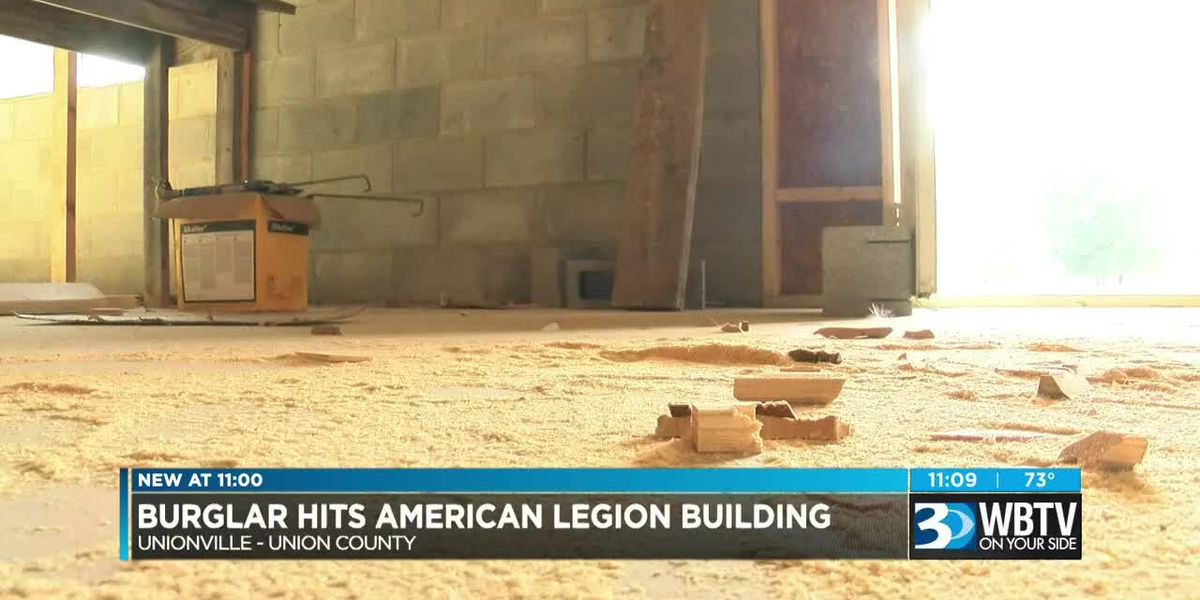 American Legion discovers tools missing from community center construction site