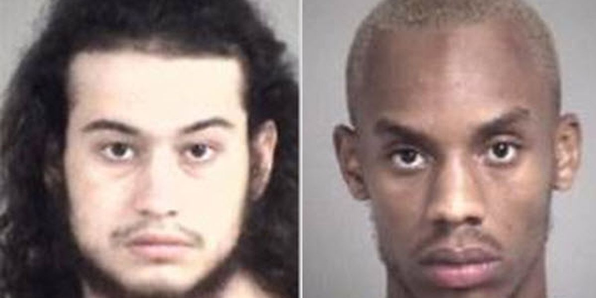 Duo charged with Harrisburg bank robbery