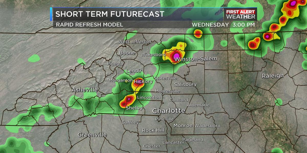 Thunderstorms struggling to get going; evening First Alert cancelled