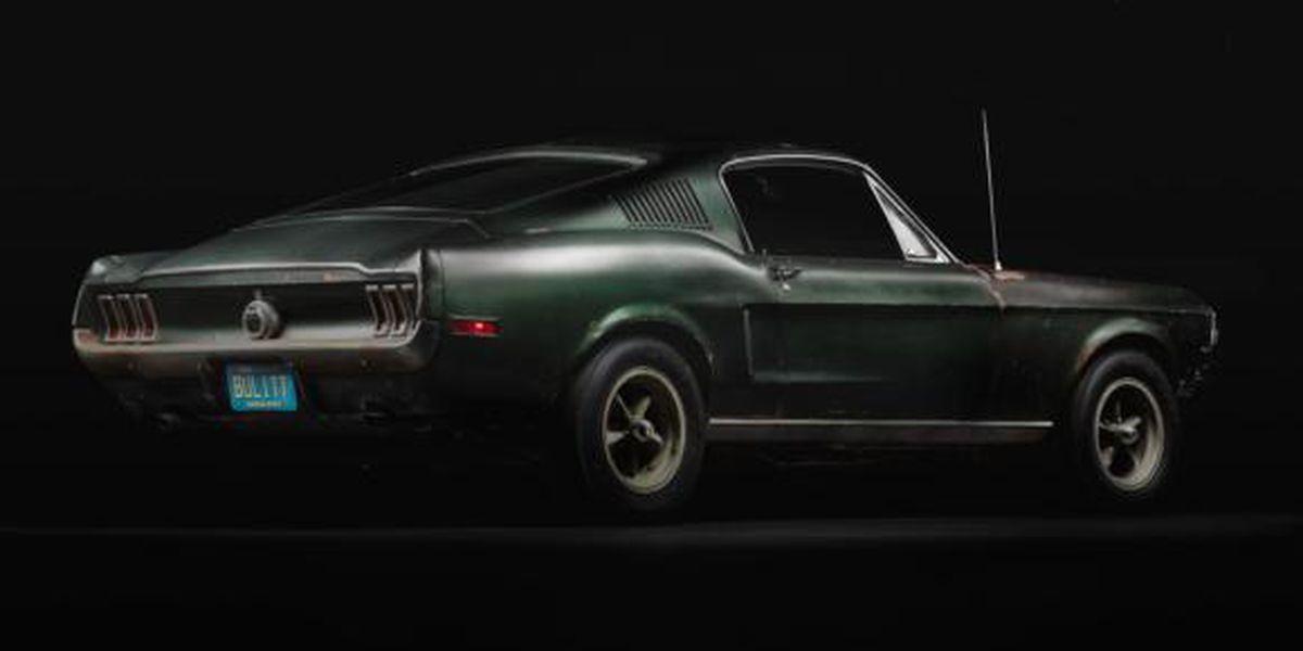 """Steve McQueen's """"Bullitt"""" car coming to Charlotte Motor Speedway"""