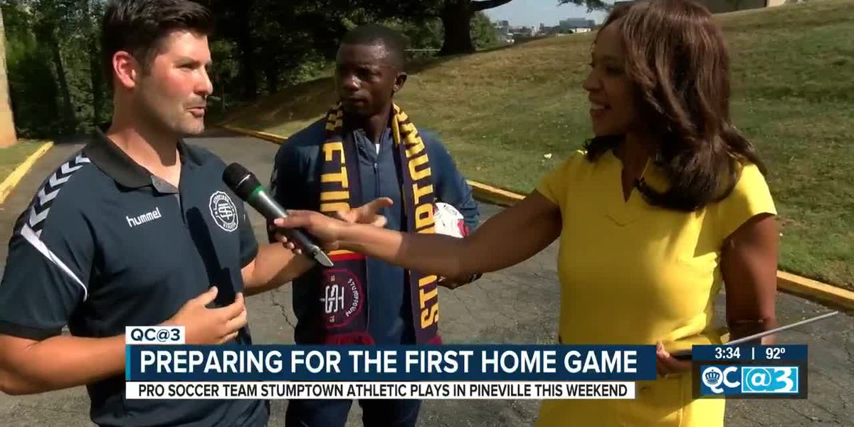 Pro Soccer Team Stumptown Athletics playing in Pineville this weekend