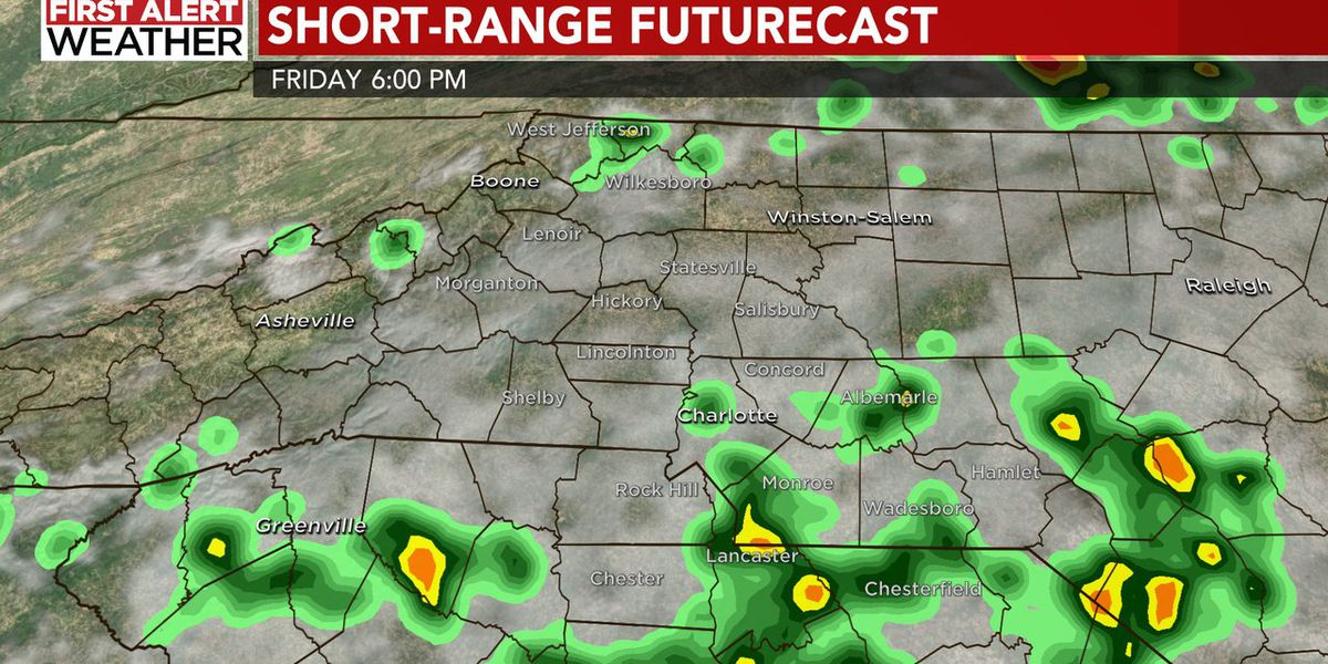 FIRST ALERT: Few storm later today, more widespread storm Saturday