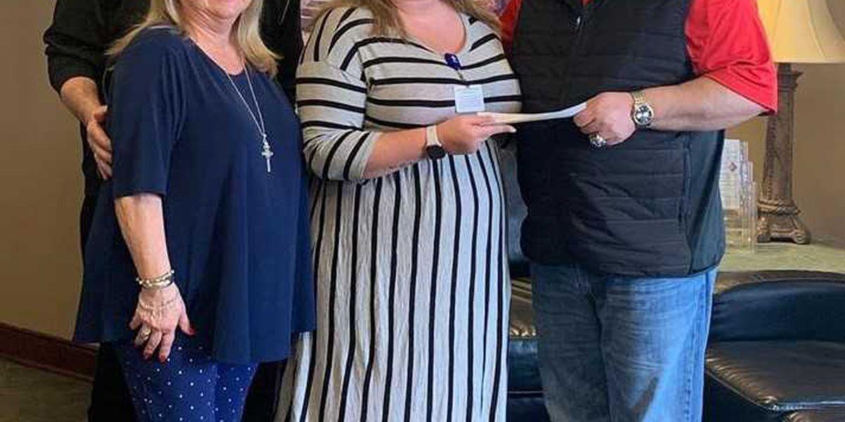 NASCAR notable celebrates birthday with donation to Nazareth Child & Family Connection