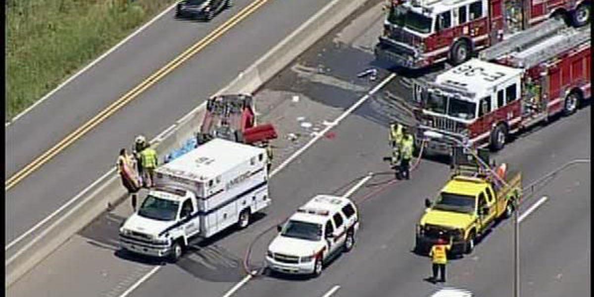Teen killed in crash on I-85 southbound at Sugar Creek Road