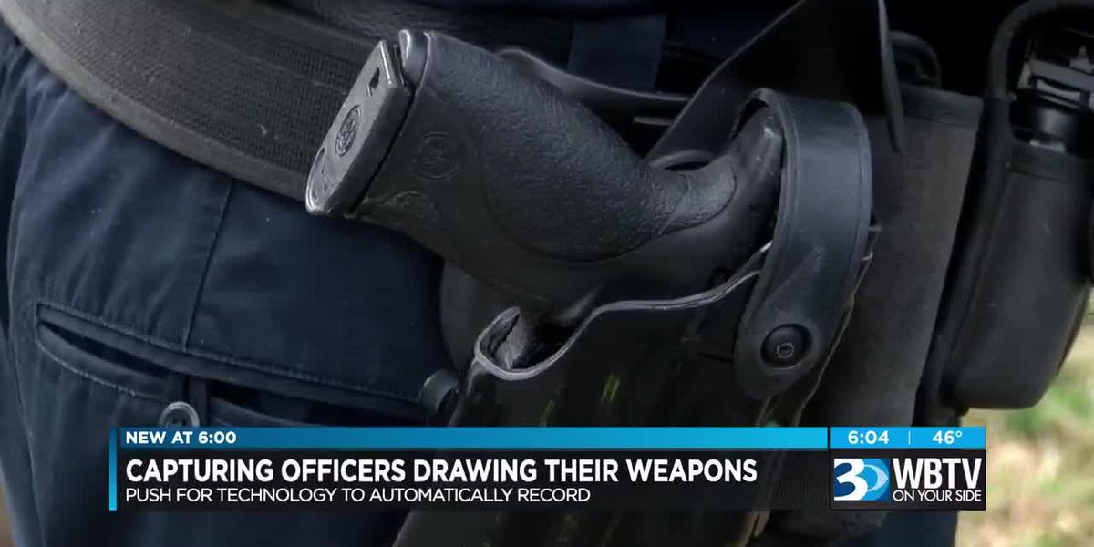 Capturing officers drawing their weapons