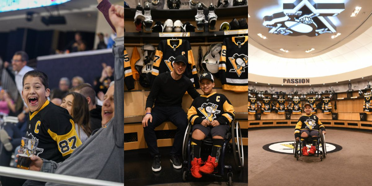 Marvin, N.C. 10-year-old has his NHL sports dream come true
