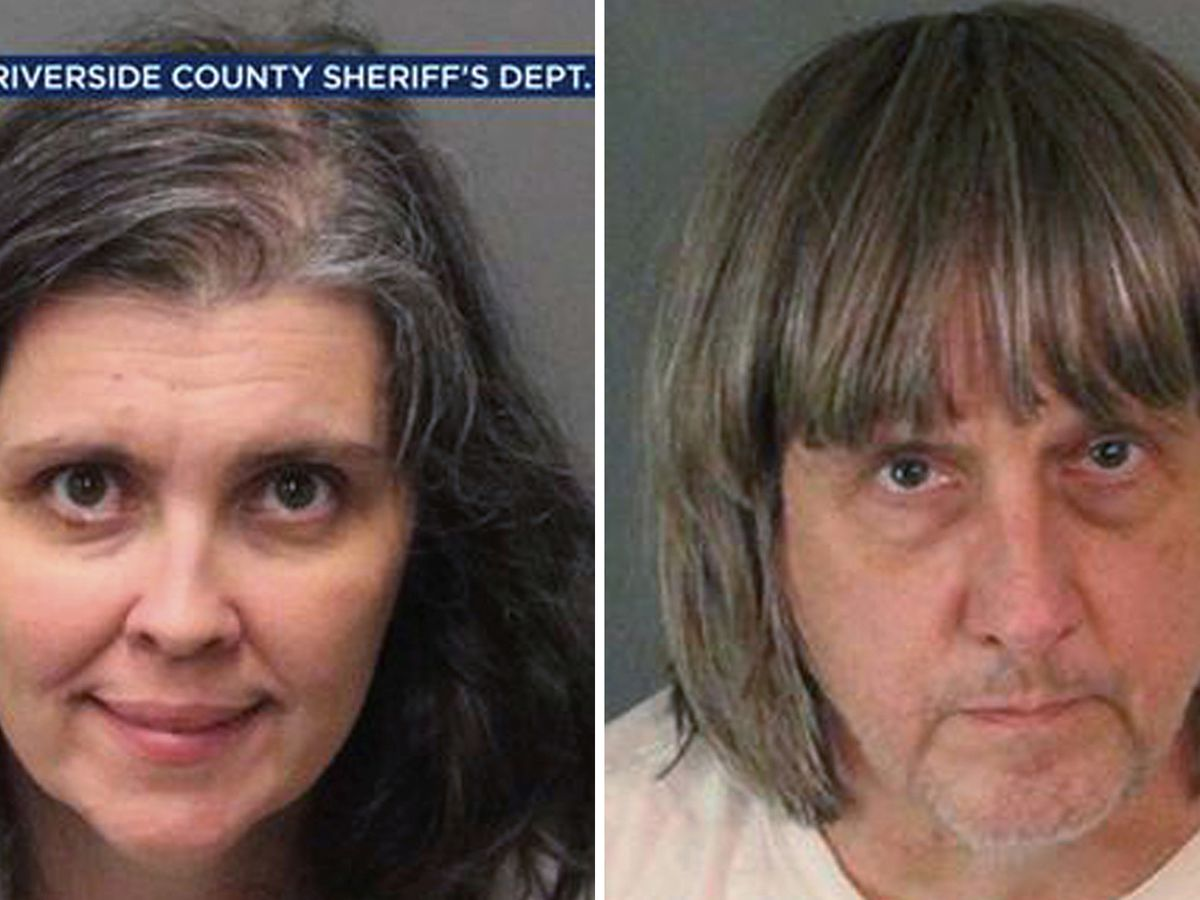 California couple who shackled children face life in prison