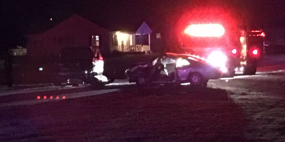 Two injured after head-on collision in east Charlotte