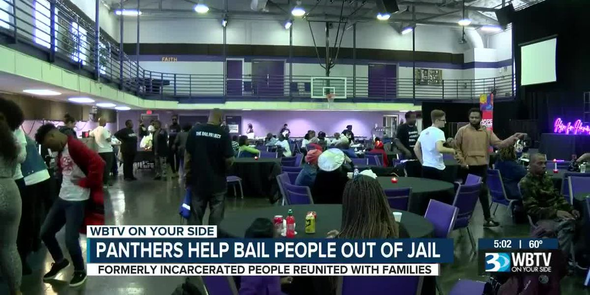 25 people bond out of jail before holidays, thanks to Carolina Panthers Players Impact Committee