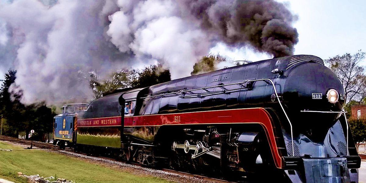 Class J No. 611 Streamliner steam locomotive returns to Spencer, events Nov. 1-3