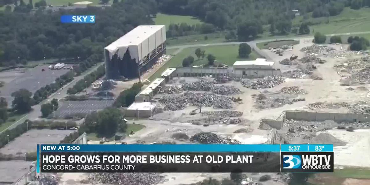 Hope grows for small businesses at old plant