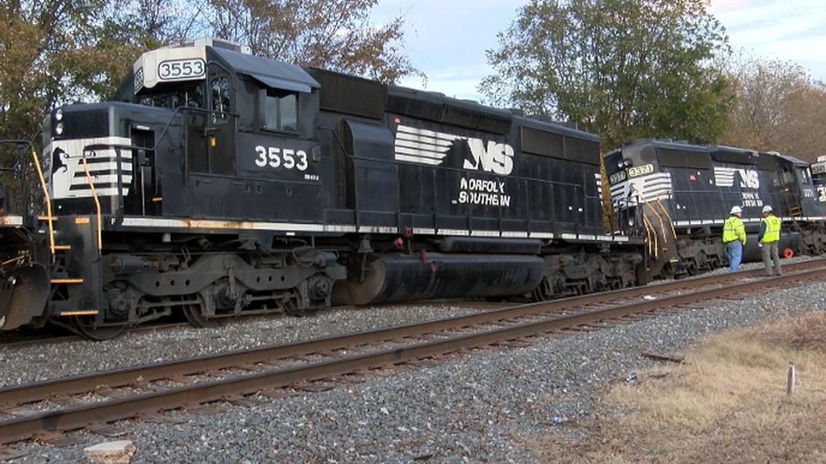 No injuries after train derailment in Salisbury