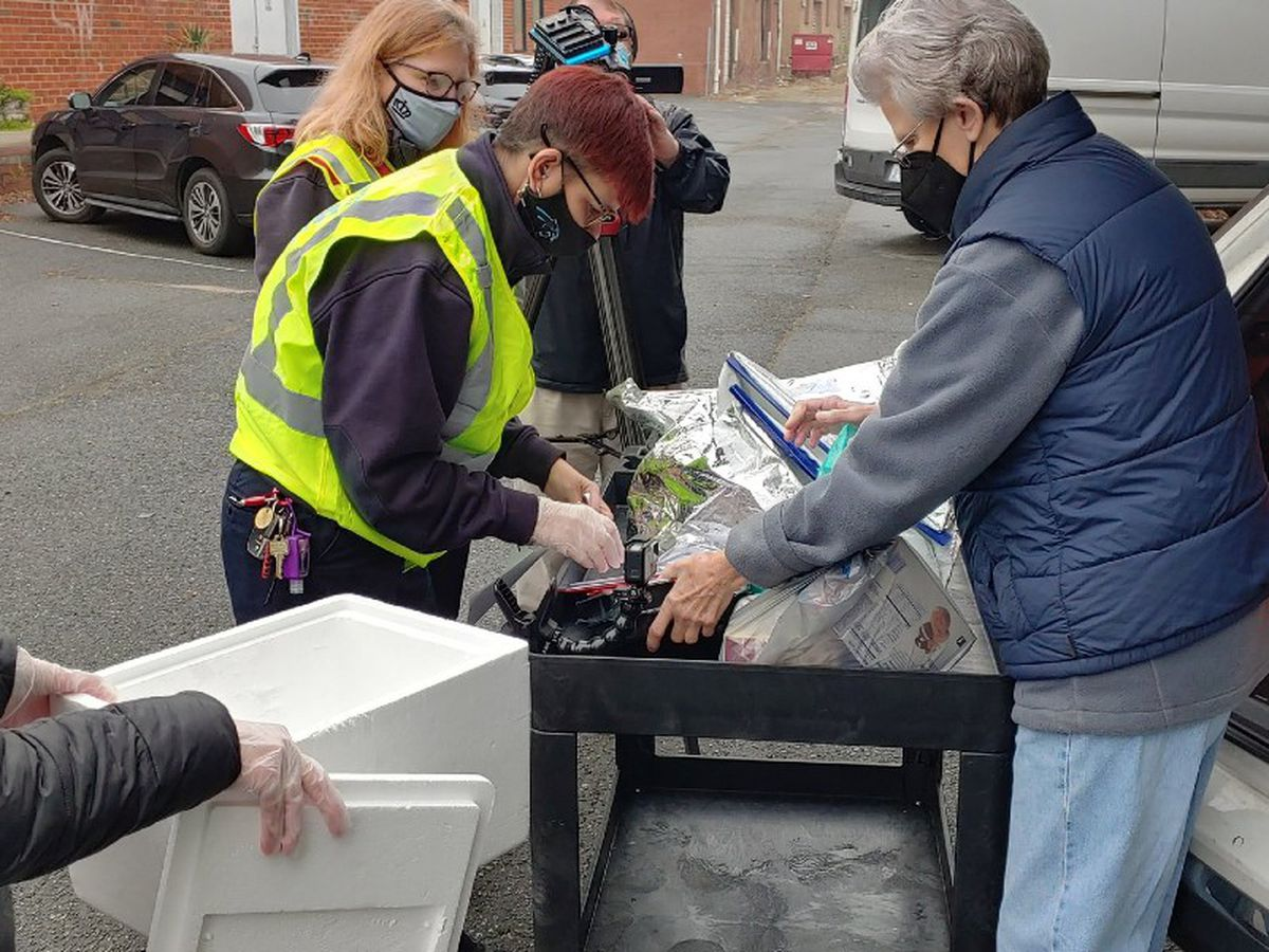 Charlotte Fire Department delivers meals to the vulnerable amid pandemic