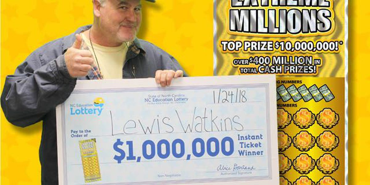 Charlotte man wins $1 million scratch-off ticket, says it's 'better than scoring a touchdown'