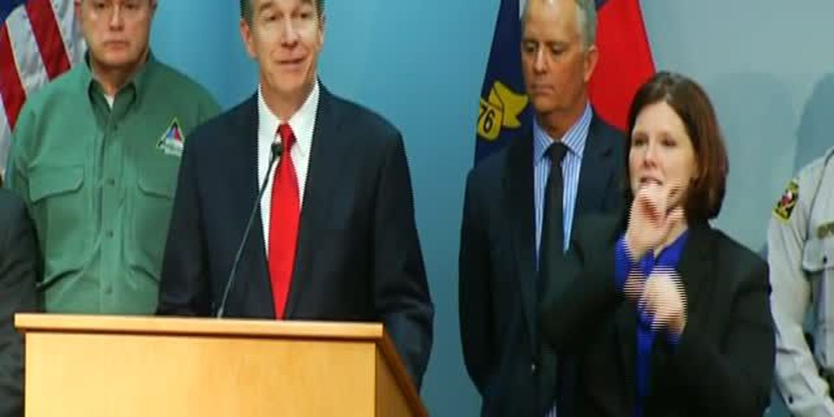 Gov. Cooper: 'We're not out of the woods yet'