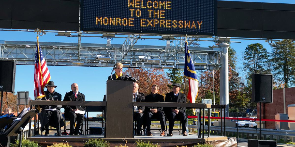 Long-Awaited Monroe Expressway Opens to Public