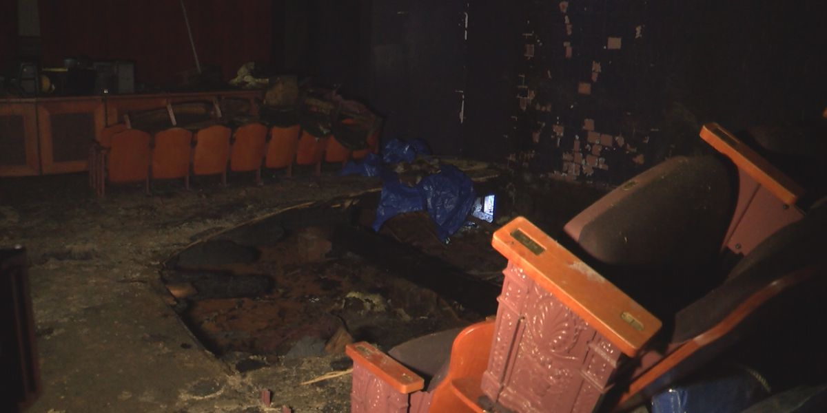 Historic Charlotte theater damaged in overnight fire