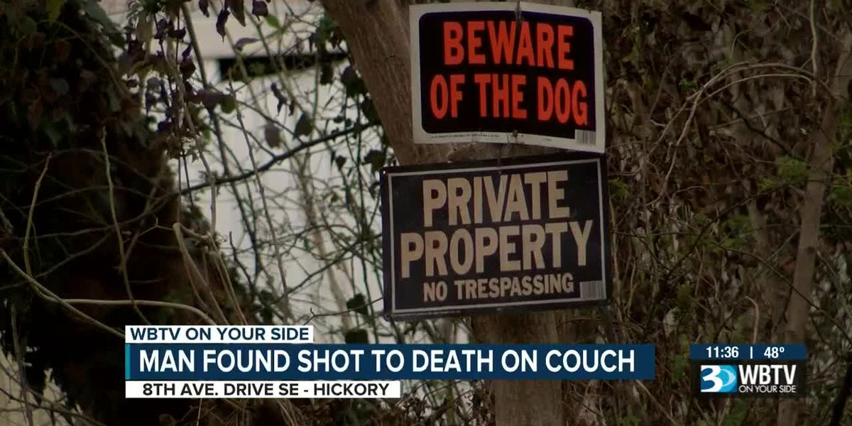 Hickory man found dead on couch from apparent shooting