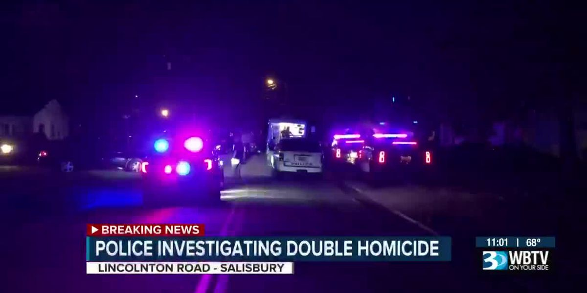 Police investigating double homicide after two people found dead inside Salisbury home