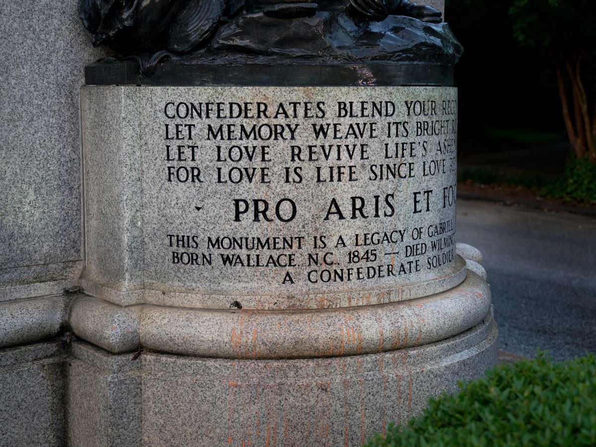 """It's a weight off our shoulders"": Family with slavery ties says removal of Confederate monuments is a relief"