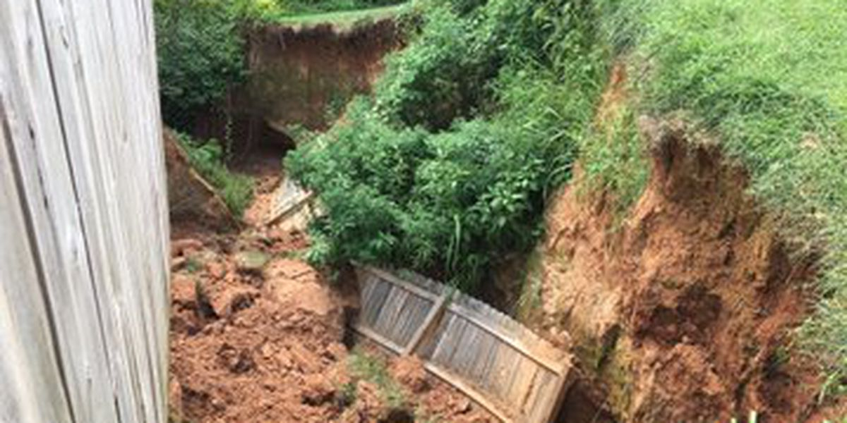 Major washout may force couple out of home in Statesville