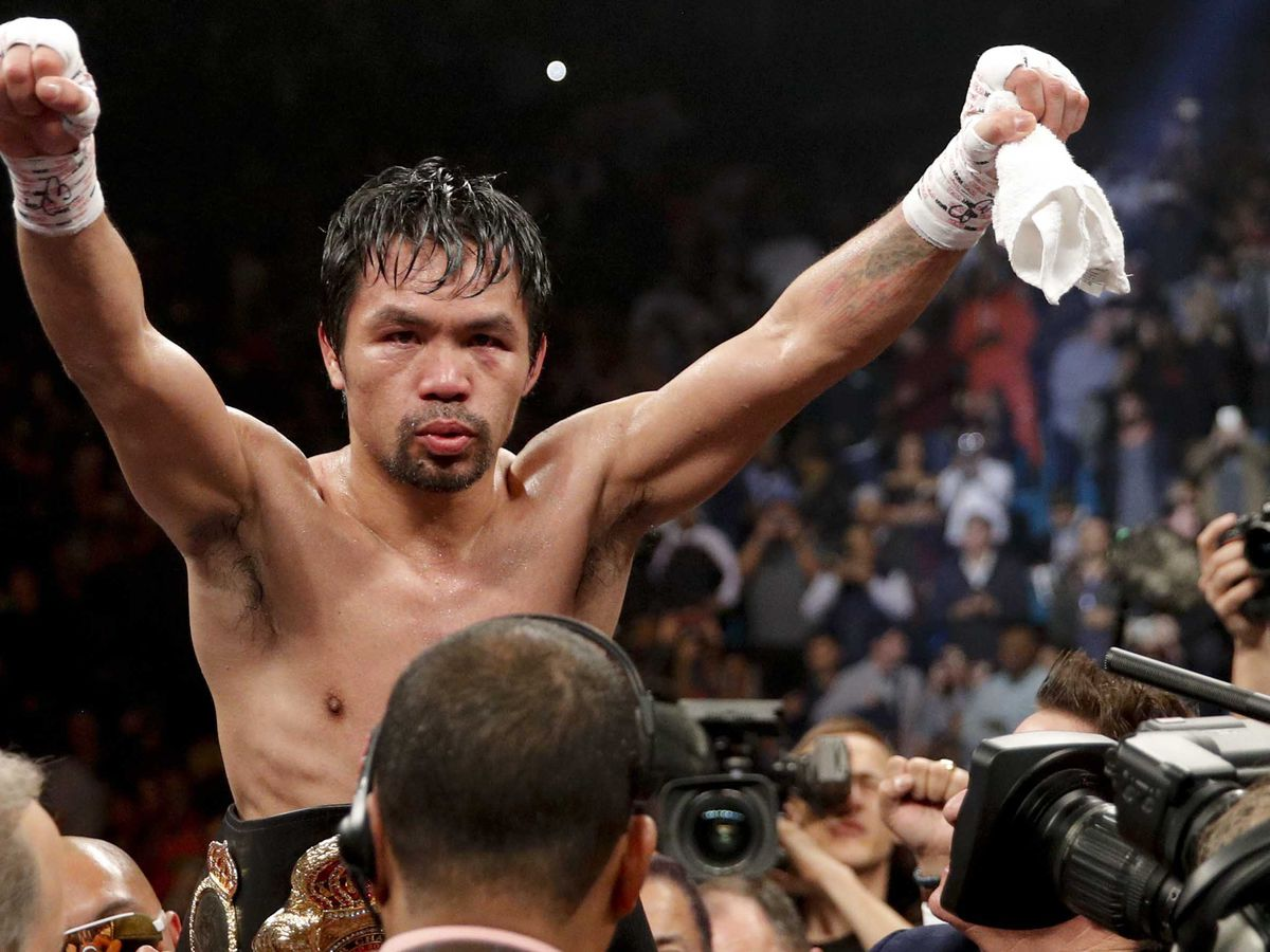 After winning fight, Manny Pacquiao discovers burglars hit his home