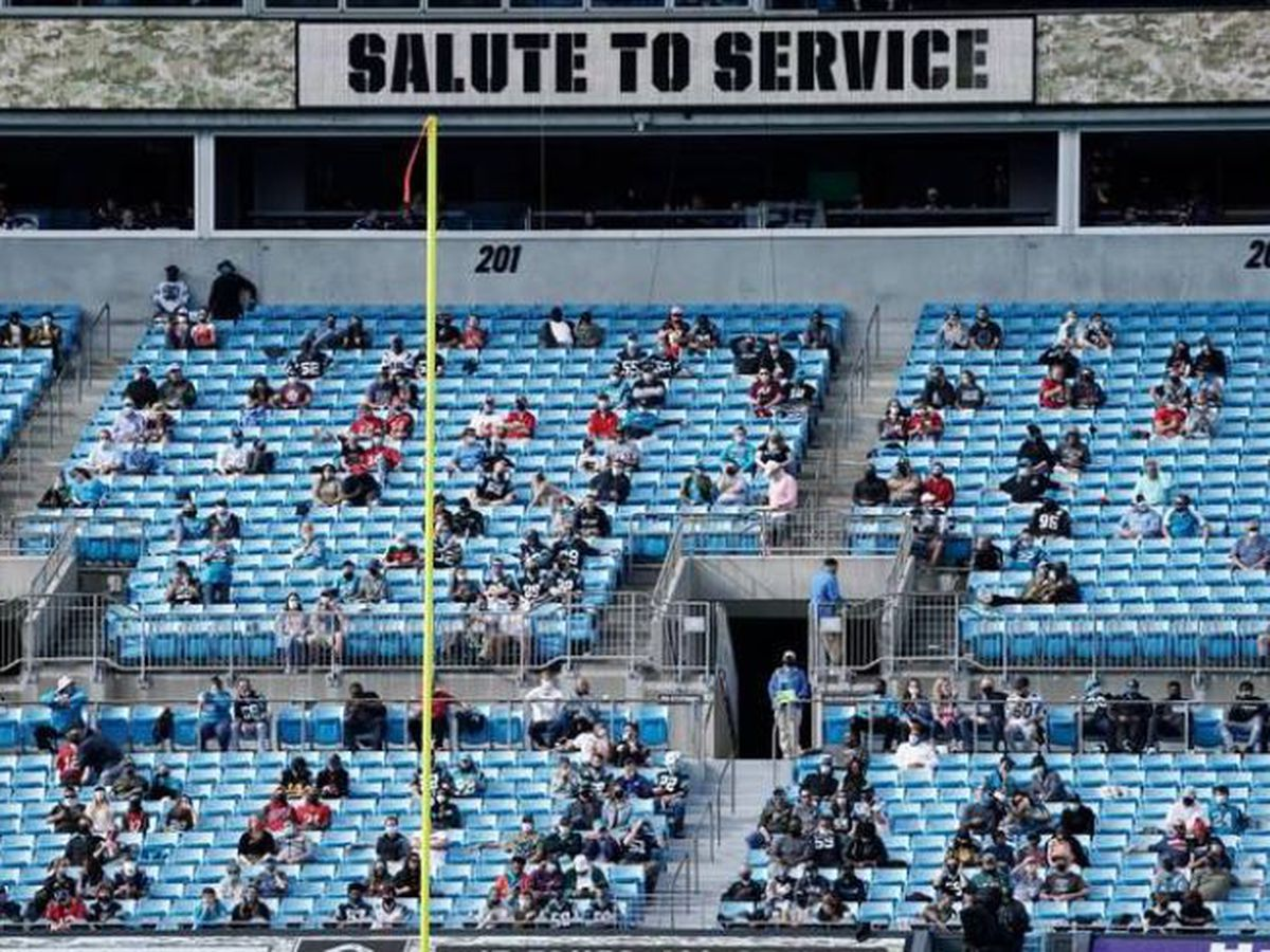 Panthers got special permission to have more fans at stadium than allowed by NC law