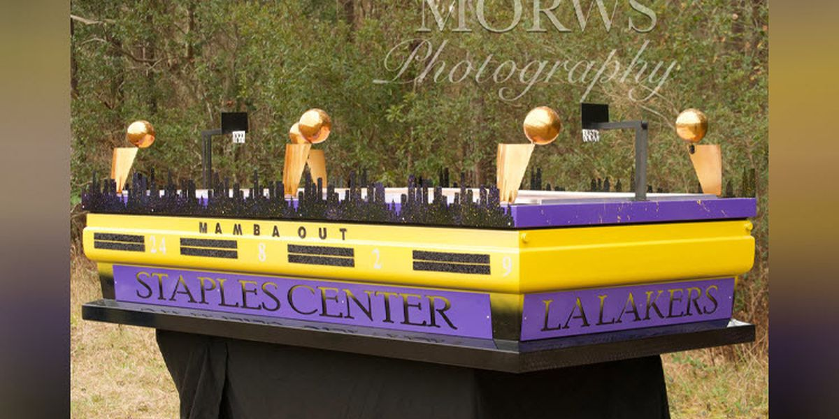 Memorial casket for Kobe Bryant was custom-made by a man from North Carolina