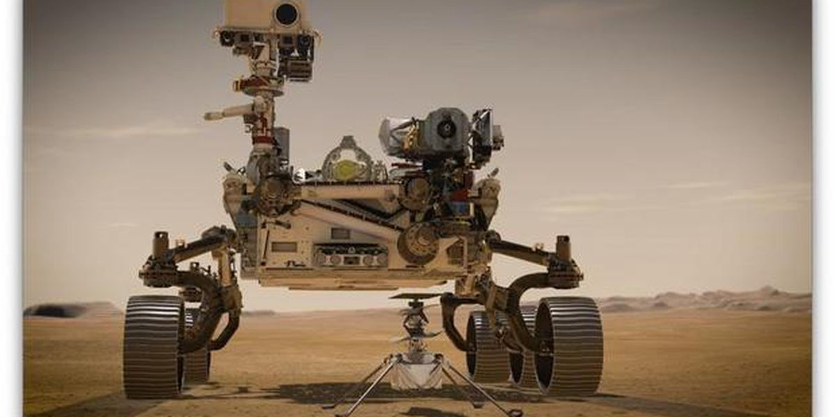 Ingenuity helicopter poised for maiden flight on Mars