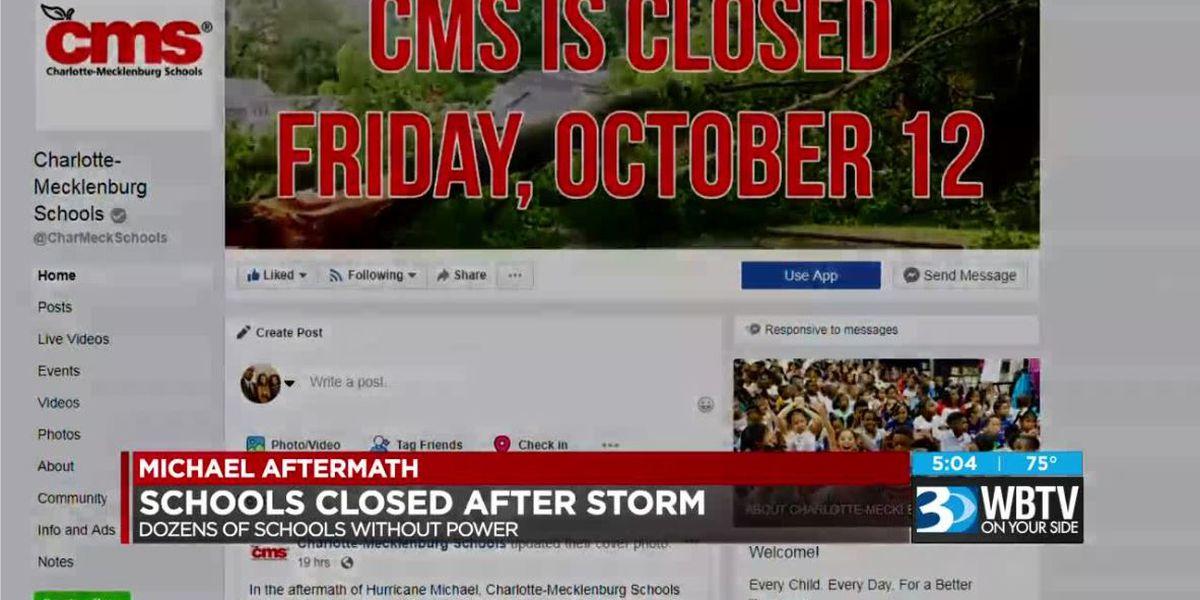 Parents react to CMS decision to close schools