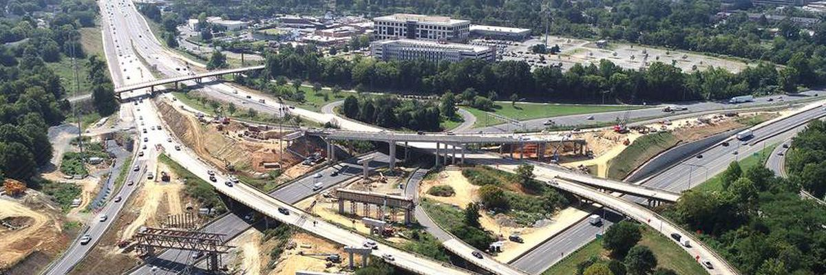 Final stretch of I-77 Express now open, toll lane construction completed