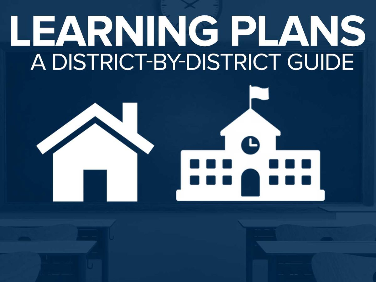 Here are the latest learning plans for schools in our area
