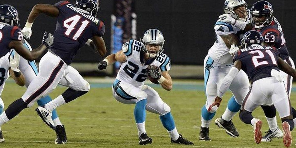 Christian McCaffrey shows promise as Steve Smith tries out new Panthers backfield nickname