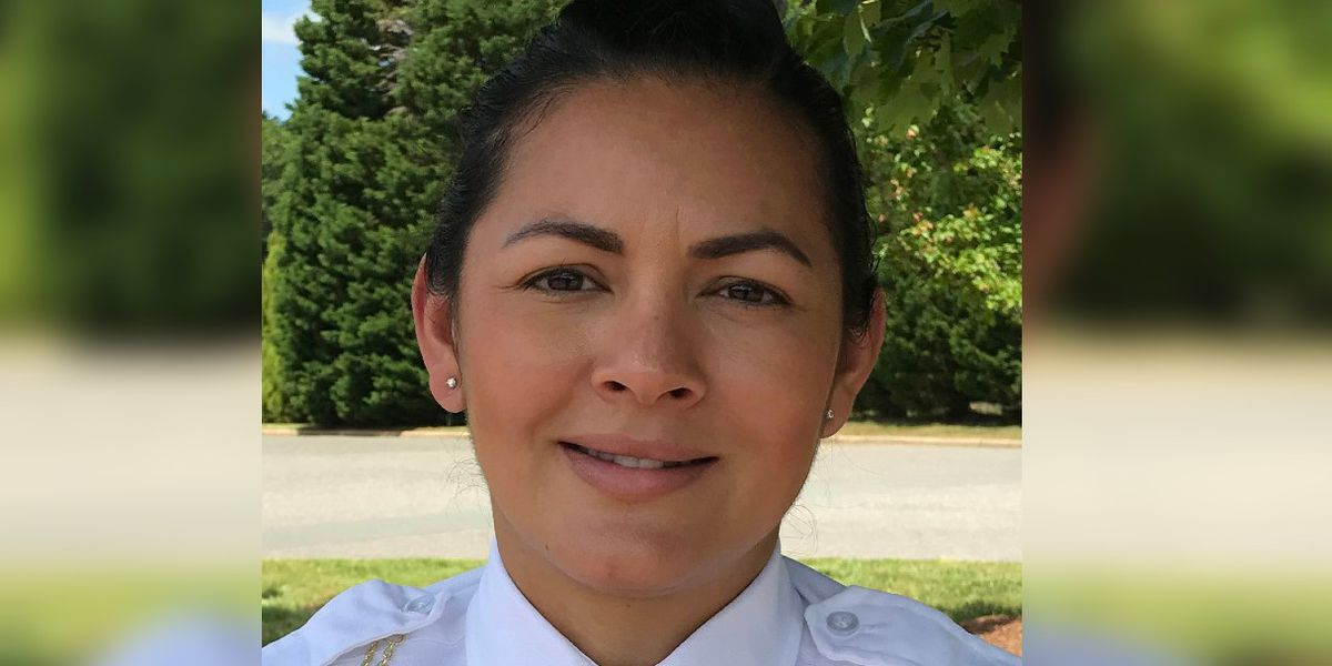 First Latina woman promoted to captain at Gastonia Police Department