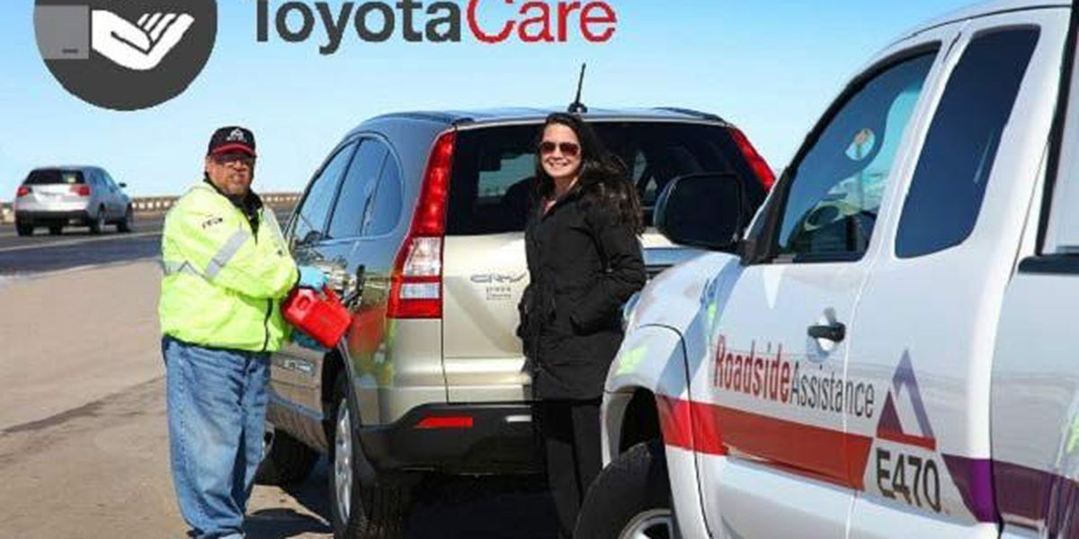 Toyota Roadside Assistance gives you peace of mind!
